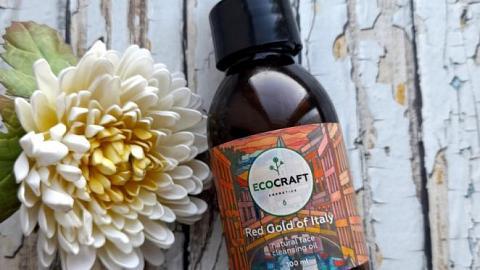 """Отзыв: Гидрофильное масло для сухой и чувствительной кожи """"Красное золото Италии"""" от бренда ECOCRAFT"""