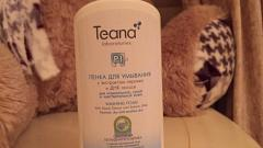 Отзыв: «P1» Мицеллярная очищающая пенка для нормальной, сухой и чувствительной кожи Teana