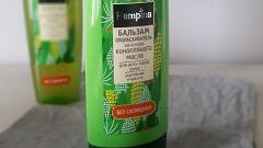 Отзыв: Бальзам-ополаскиватель на основе конопляного масла Hempina