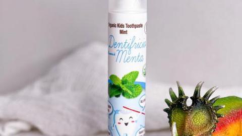 Отзыв от Кустова Юлия : Органическая зубная паста с ксилитом Мята 0+