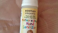Отзыв: Очиститель для рук матери и ребенка Bentley Organic