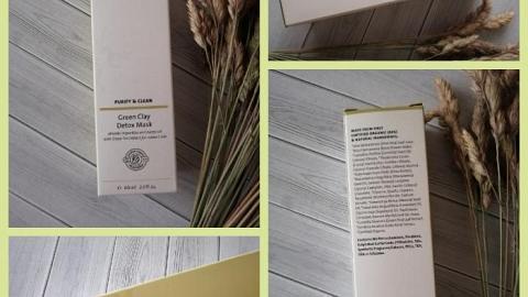 Отзыв от Александра Бутенко: Детокс-маска с зеленой глиной для жирной и комбинированной кожи