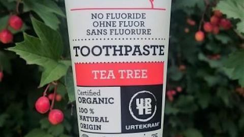 Отзыв: Зубная паста Чайное дерево Urtekram
