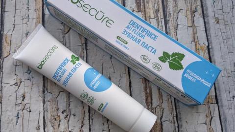 Отзыв: Зубная паста с отбеливающим эффектом от бренда Biosecure
