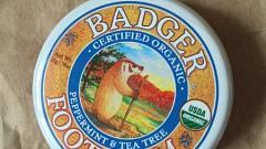Отзыв: Бальзам для ног с перечной мятой и чайным деревом Badger