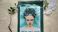 Отзыв: FACE SHEET MASK. PROBLEM SKIN от «Ламинария шоп»