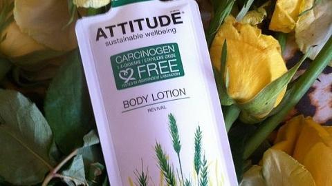 Отзыв: Лосьон для тела Оживляющий Attitude