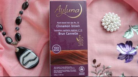 """Отзыв: Ayluna Растительная краска для волос №70 """"Коричный коричневый"""""""