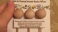 Отзыв: Деревянные палочки для Диффузера Провансальского Florame