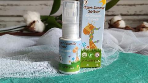 Отзыв: Органическое масло Cold relief (от простуды) AZETAbio