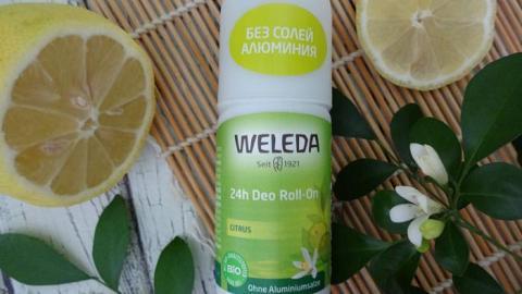 Отзыв: Моё открытие этого лета - шариковый дезодорант Цитрусовый WELEDA