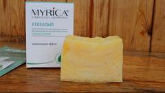 Отзыв: Myrica Органическое мыло для лица и тела с маслом облепихи