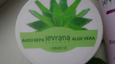 Отзыв: Увлажнение пористых волос натурально! Масло -  баттер алоэ вера от Levrana.