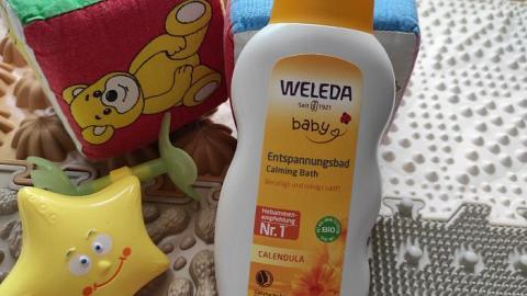 Отзыв: Детское купание с календулой от Weleda