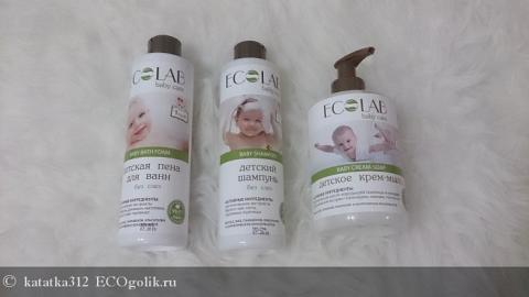 Отзыв: Детский шампунь 1+ без слез Ecolab