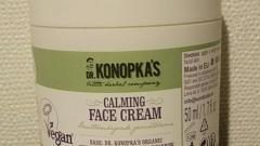 Отзыв: Крем для лица успокаивающий Dr.Konopka's