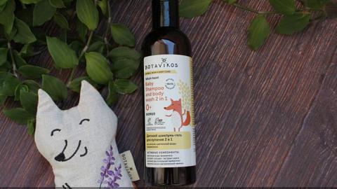 Отзыв: Botavikos Шампунь-гель 2 в 1 детский на основе цветочной воды гамамелиса