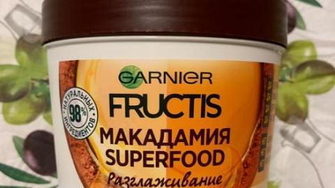 Отзыв: Разглаживающая маска с макадамией от Garnier Superfood