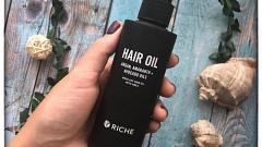 Отзыв: Спасение для моих длинных и непослушных волос. Масло Амлы от Riche поможет вернуть волосам здоровье и блестящий вид