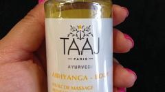 Отзыв: Массажное масло для тела линии ABHYANGA Taaj