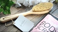 Отзыв: Щетка для сухого массажа с ручкой Smorodina - почему я не удивлена ее качеством?