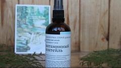 """Отзыв: Краснополянская косметика Сыворотка-спрей для волос """"Витаминный коктейль"""", термозащита"""