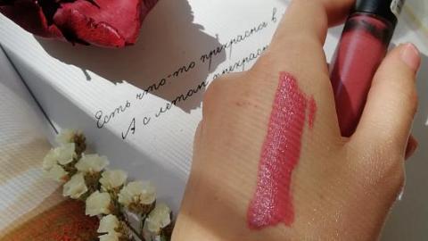 Отзыв: Бархатный матовый финиш и роскошный цвет жидкой помады-тинта от PuroBio в оттенке «Холодный-розовый». (Часть 3)