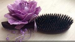 Отзыв: Щетка из натуральной щетины кабана массажная Hairway