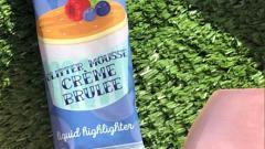 "Отзыв: Хайлайтер ""Glitter mousse creme brulee"", жидкий"