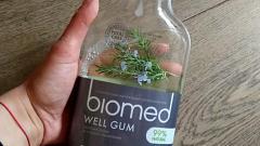Отзыв: Ополаскиватель для полости рта  Well Gum от Biomed -  мог бы быть идеальным,но...