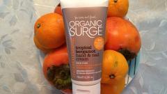 """Отзыв: Крем для рук и ногтей """"Тропический бергамот"""" Organic Surge"""