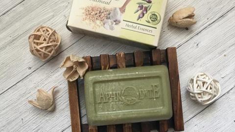 Отзыв: Греческое мыло оливковое с маслом ши и овсянкой Aphrodite
