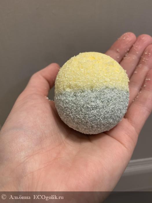 Бомбочка доя ванны с афродизиаками «ананас и лайм» - отзыв Экоблогера Альбина