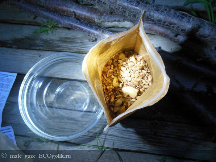 Натуральная гранола Шоколадная с бананом Siberina - отзыв Экоблогера male gaze