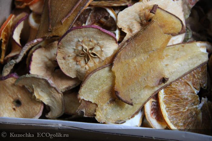 Смесь фруктовых чипсов от SIBERINA - отзыв Экоблогера Kuzochka