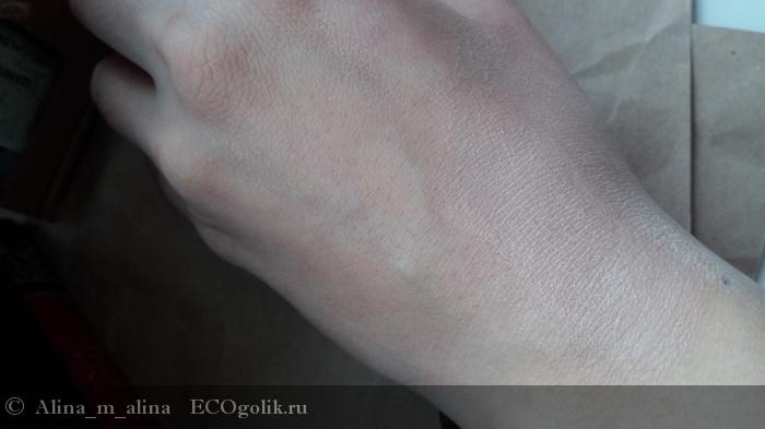 Натуральный тональный крем для нормальной и сухой кожи, бежевый Jurassic Spa - отзыв Экоблогера Alina_m_alina