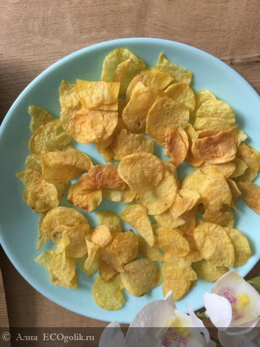 Натуральные чипсы «Картошка с морской солью» от SIBERINA - отзыв Экоблогера Алия
