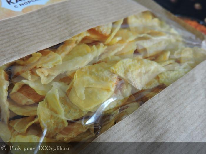 Натуральные овощные чипсы «Картошка с морской солью» Siberina - отзыв Экоблогера Pink pony