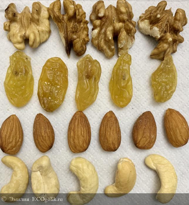 Вкуснейшая ореховая смесь от SIBERINA - отзыв Экоблогера Эмилия
