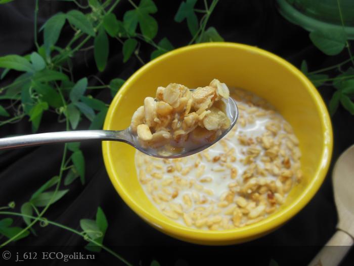 Натуральная гранола с курагой SIBERINA HEALTHY FOOD - отзыв Экоблогера j_612