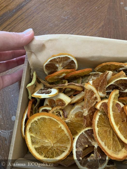 Натуральная смесь фруктовых чипсов от SIBERINA - отзыв Экоблогера Альбина