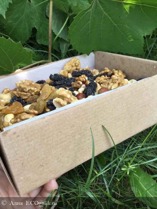 Ореховая смесь ENERGY MIX от SIBERINA - отзыв Экоблогера Алия