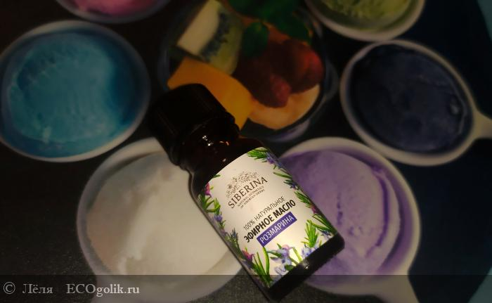 Эфирное масло розмарина можно применять от макушки до пяточек - отзыв Экоблогера Лёля