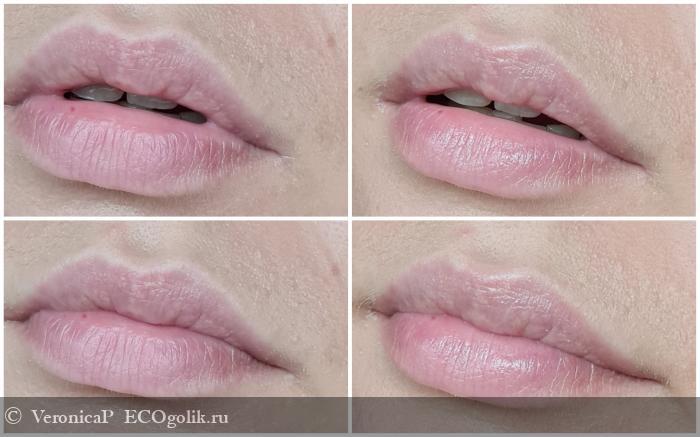 Летом губы под защитой с бальзамом SIBERINA - отзыв Экоблогера VeronicaP
