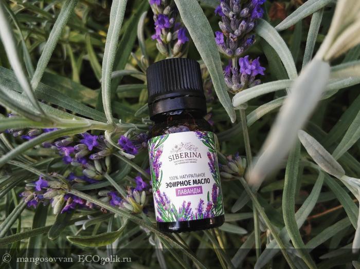 Эфирное масло Лаванды (Lavender essential oil) от компании SIBERINA - отзыв Экоблогера mangosovvan
