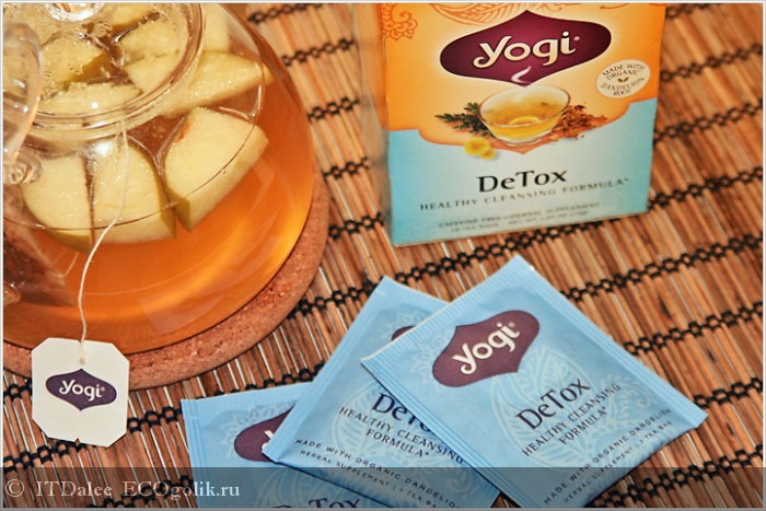 Yogi Tea Detox Healthy Cleansing Formula - отзыв Экоблогера ITDalee