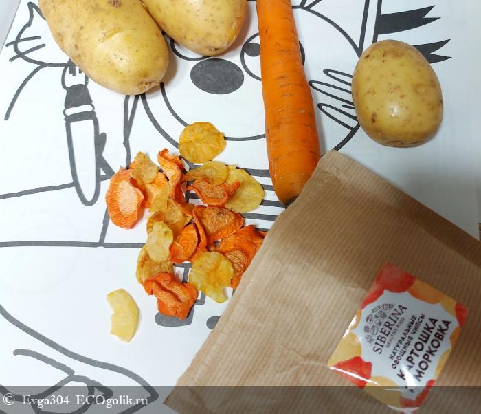Первые чипсы, которые попробовала моя дочь! - отзыв Экоблогера Evga304