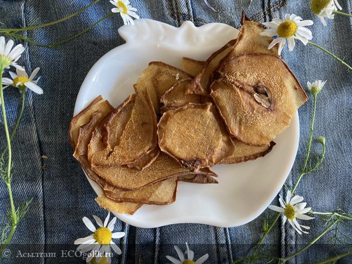 Натуральные фруктовые чипсы Груша от Siberina к чаю и как перекус в самый раз. - отзыв Экоблогера Асылташ