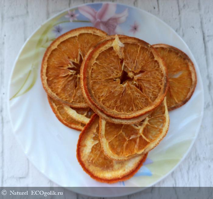 Натуральные фруктовые чипсы Апельсин от бренда Siberina - отзыв Экоблогера Naturel