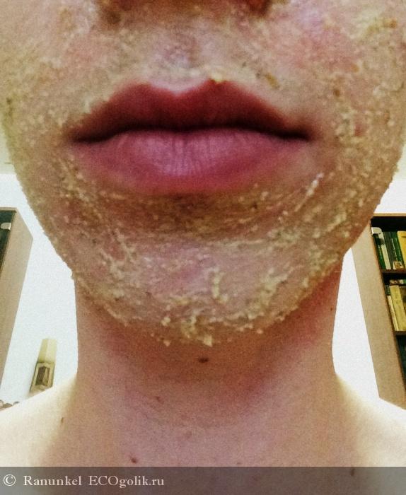 Ромашковый скраб для лица для всех типов кожи Рецепты бабушки Агафьи - отзыв Экоблогера Ranunkel
